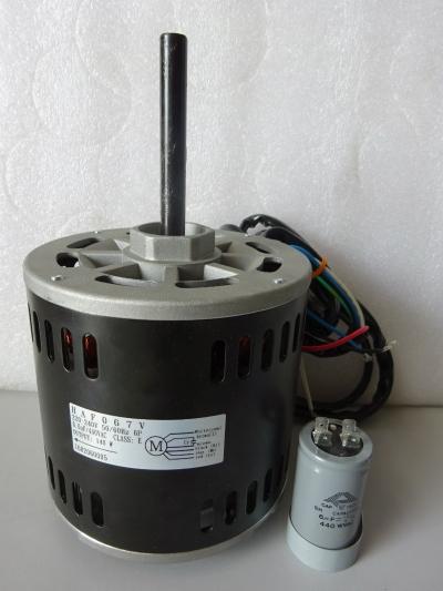 YORK HAF-067 (1PH 1/4HP 140W 6P) INDOOR FAN MOTOR C/W 6UF CAPACITOR - (DCP06CC)
