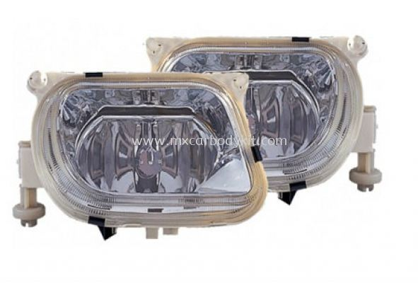 MERCEDES BENZ W210 1995 FOG LAMP CRYSTAL GLASS LENS