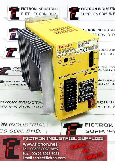 A06B-6093-H102 FANUC Servo Amplifier Unit Supply & Repair Malaysia Singapore Thailand Indonesia Philippines Vietnam Europe & USA