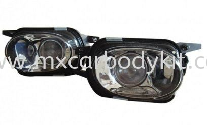 MERCEDES BENZ W211 2003-2009 AMG STYLE FOG LAMP W/PROJECTOR FOG LAMP ACCESSORIES AND AUTO PARTS