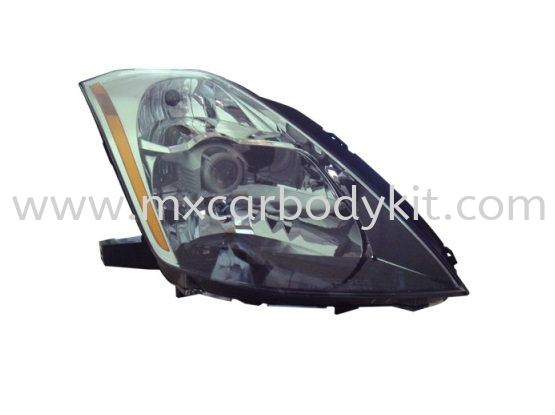 NISSAN FAIRLADY 2003-2008 HEAD LAMP CRYSTAL PROJECTOR CHROME HEAD LAMP ACCESSORIES AND AUTO PARTS