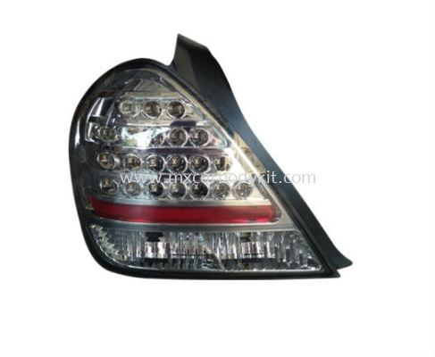 NISSAN SENTRA 2003 REAR LAMP CRYSTAL LED SMOKE