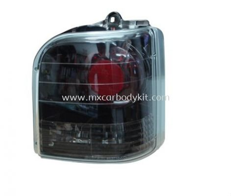 PERODUA KANCIL 1994 & 2002 REAR LAMP CRYSTAL BLACK CHROME