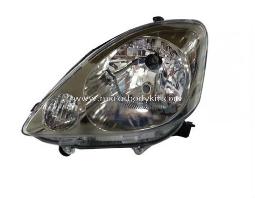 PERODUA VIVA 2007 & ABOVE HEAD LAMP CRYSTAL BLACK CHROME