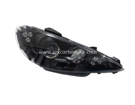 PEUGEOT P206 1998-2005 HEAD LAMP PROJECTOR W/LED