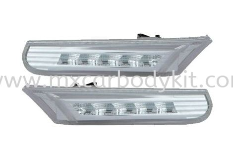 PORSCHE 996 1999-2004 SIDE LAMP CRYSTAL LED CLEAR SIDE LAMP ACCESSORIES AND AUTO PARTS