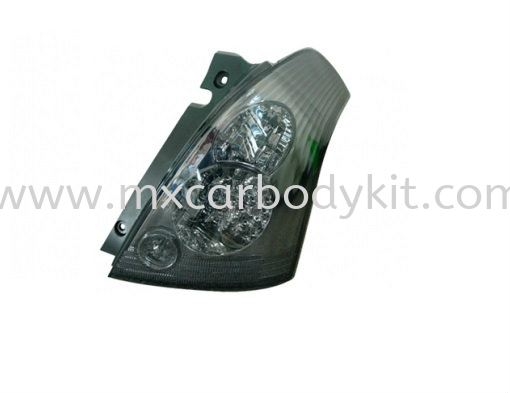 SUZUKI SWIFT 2005 & ABOVE REAR LAMP CRYSTAL LED SMOKE REAR LAMP ACCESSORIES AND AUTO PARTS