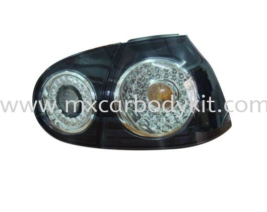 VOLKSWAGEN GOLF 2003-2007 REAR LAMP CRYSTAL LED BLACK REAR LAMP ACCESSORIES AND AUTO PARTS