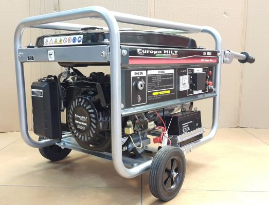 EUROPA EH3800 3KVA Gasoline Generator-Battery Start ID889378