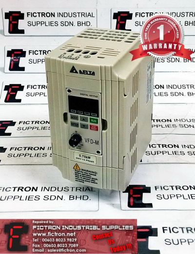 Repair Service Malaysia - VFD007M23A DELTA 3HP 1Ph Inverter Singapore Indonesia Thailand Philippines
