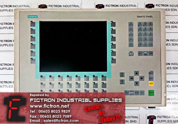 6AV6542-0AG10-0AX0 SIEMENS Multi Panel MP270B 10.4 Inch HMI SIMATIC Panel Supply & Repair Malaysia Singapore Thailand Indonesia Philippines Vietnam Europe & USA