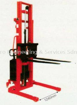 Model SPA Series - Electric Straddle-leg Stacker