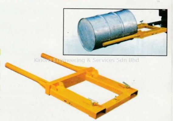 Model FDS Series - Forklift Drum Positioner