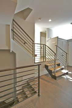 METAL RAILING AND SPIRAL STAIRCASE 104