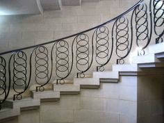 METAL RAILING AND SPIRAL STAIRCASE 105