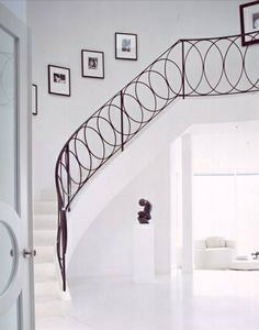 METAL RAILING AND SPIRAL STAIRCASE 108