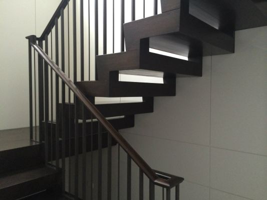 METAL RAILING AND SPIRAL STAIRCASE 107