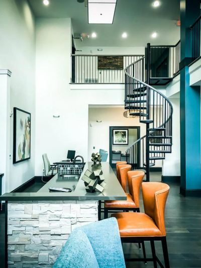 METAL RAILING AND SPIRAL STAIRCASE111
