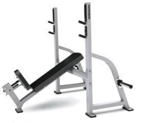 G1 �C FW164 �C MATRIX Olympic Incline Weight Bench
