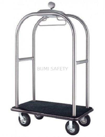 Stainless Steel Birdcage Styling Cart (Hairline Finish)