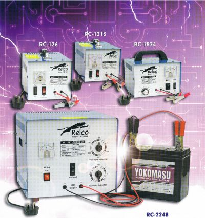 Relco Lead Acid Battery Charger
