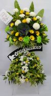 RIP Flower Arrangement (FA-138) Big Funeral Flower Arrangement Funeral Arrangement
