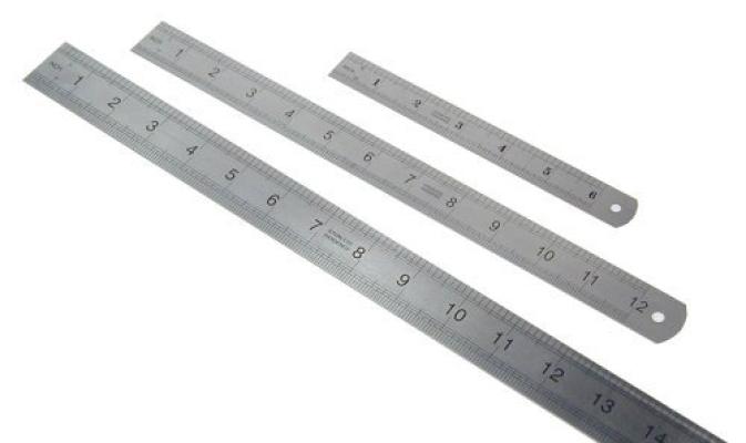 """12"""" (30cm) Steel Ruler"""