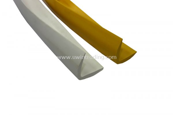 PVC Corner Guard - White / Yellow