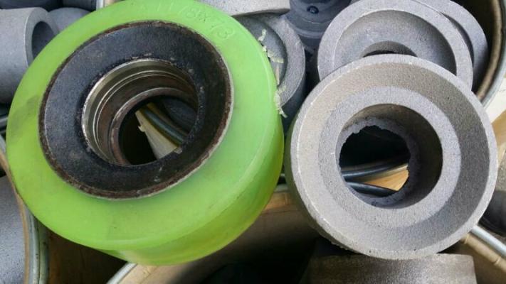 Cast Iron coated Polyurethane