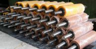Recoated Pressure Roller Rollers Polyurethane Products