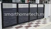 Fully Aluminium 100% Fully Aluminium Gate (Smartgate) Aluminium Gate