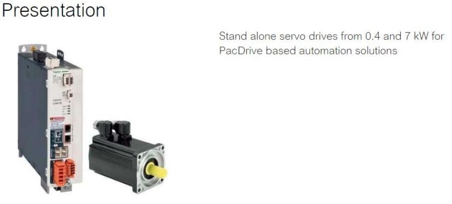 Lexium 52 - Servo Drives & Motor Drives
