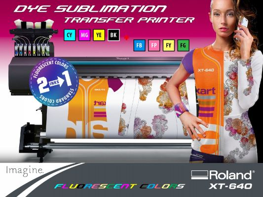 Texart XT-640 Dye-Sublimation Printer