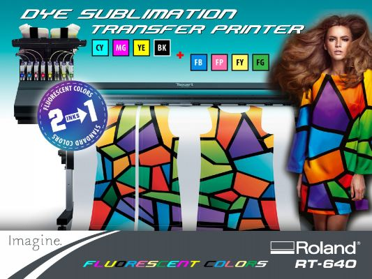 Texart™ RT-640 Dye-Sublimation Transfer Printer