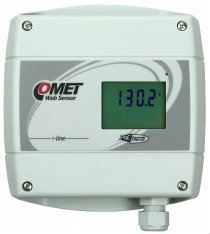 Web Sensor T4611 with PoE - remote thermometer with Ethernet interface