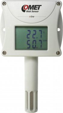 Web Sensor T3510 - remote thermometer hygrometer with Ethernet interface