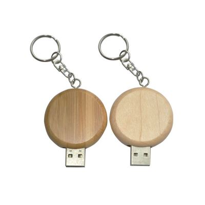 USB flash drive wood 139
