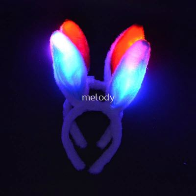 Bunny Hairband LED - L.Blue 2010 0301 11