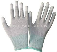 ESD Gloves (PU Fingertips Coated)