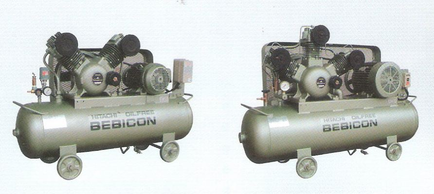 Hitachi Oil Free Piston Compressor