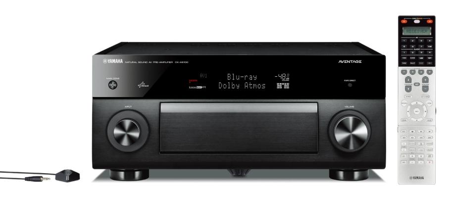 Yamaha CX-A5100 Network AV Pre Amplifier 11.2ch
