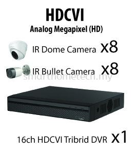 1000 Series (720P) HDCVI BELCO 16 Channel 720P HD Package
