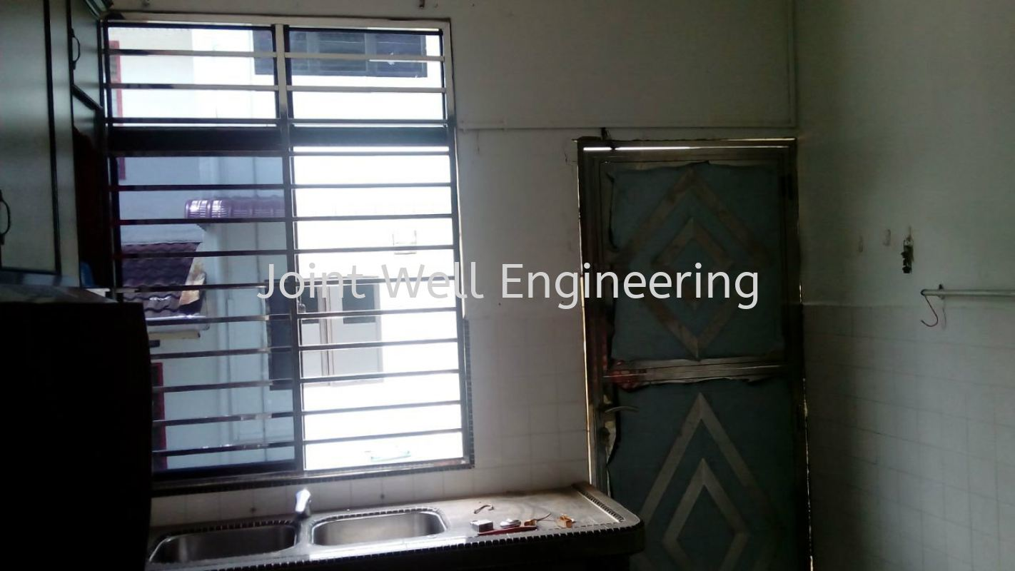 Window And Back Door Stainless Steel Window Grill Johor