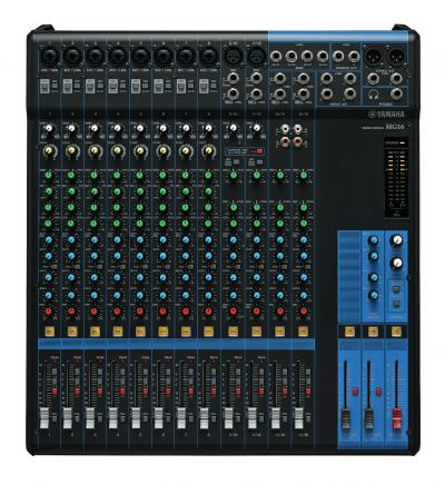 YAMAHA MG16XU 16CHANNEL ANALOG MIXING CONSOLE