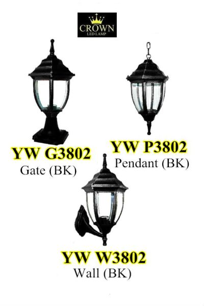 CROWN YWP3802 Outdoor Pendant Lamp