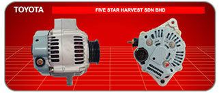 Toyota Toyota Japanese and Korean Cars Car Alternator, Supplier, Supply, Supplies ~ Five Star Harvest Sdn Bhd