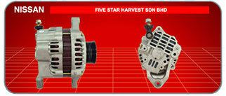 Nissan Nissan Japanese and Korean Cars Car Alternator, Supplier, Supply, Supplies ~ Five Star Harvest Sdn Bhd