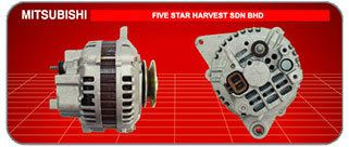 Mitsubishi Mitsubishi Japanese and Korean Cars Car Alternator, Supplier, Supply, Supplies ~ Five Star Harvest Sdn Bhd