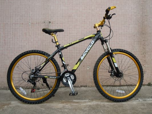 Cyclo Alloy MTB M1410A- Black/ Yellow