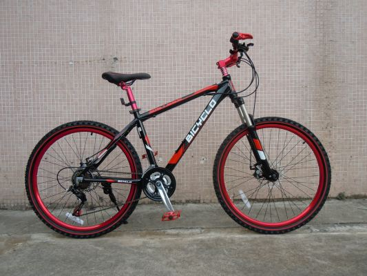 Cyclo Alloy MTB M1410A- Black/Red